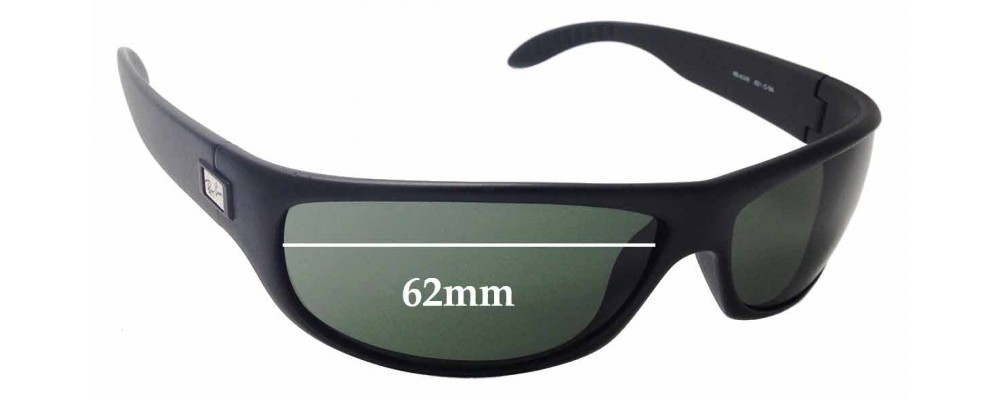 Ray Ban RB4046 Replacement Sunglass Lenses - 62mm wide