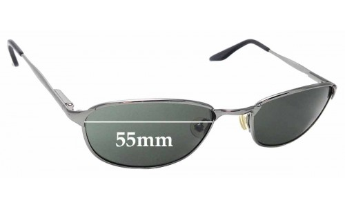 Sunglass Fix Replacement Lenses for Ray Ban B&L W2962 - 55mm Wide