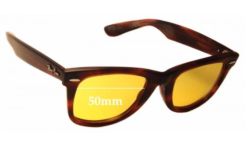 Sunglass Fix Replacement Lenses for Ray Ban B&L RB5022 - 50mm wide