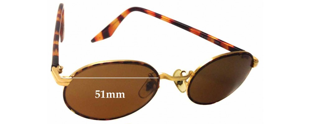Sunglass Fix Replacement Lenses for Ray Ban B&L RB3007 - 51mm wide
