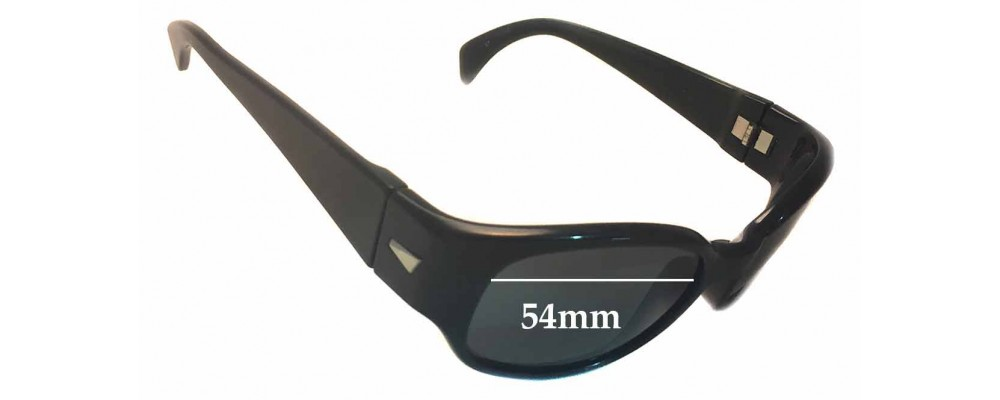 Sunglass Fix Replacement Lenses for Ray Ban B&L W2757 - 54mm across
