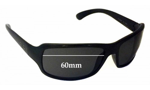 Ray Ban RAJ1554AA RC001 Replacement Sunglass Lenses - 60mm wide *Please measure your lens as size is not indicated on frames*