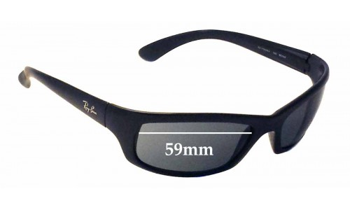 Ray Ban RAJ1554AA RC002 Replacement Sunglass Lenses - 59mm wide *Please measure your lens as size is not indicated on frames*
