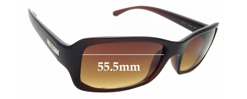 Sunglass Fix Replacement Lenses for Ray Ban RB4107 - 55.5mm Wide