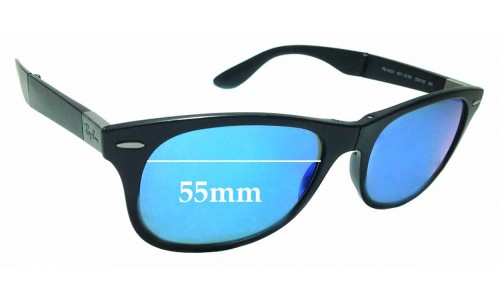 Sunglass Fix Replacement Lenses for Ray Ban RB 4223 - 55mm wide