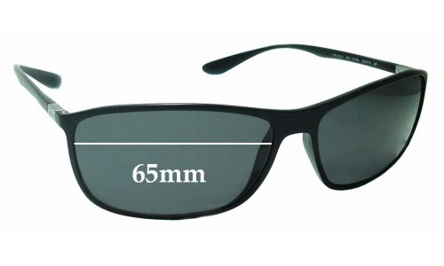Sunglass Fix Replacement Lenses for Ray Ban RB4231 - 65mm wide
