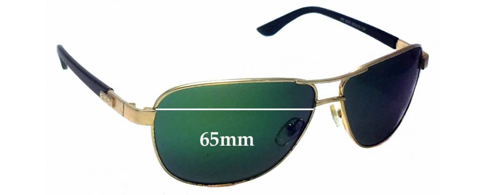Ray Ban RB3032 Replacement Sunglass Lenses - 65mm wide