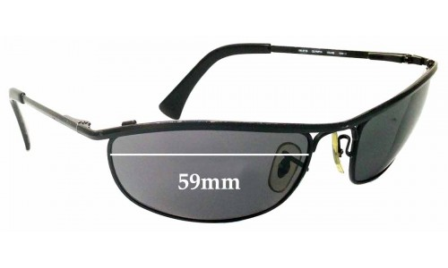 Ray Ban RB3119 Replacement Sunglass Lenses - 59mm wide