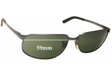 977127c5f8 Sunglass Fix Replacement Lenses for Ray Ban RB3221 - 59mm wide