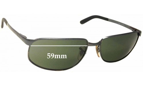 Ray Ban RB3221 Replacement Sunglass Lenses - 59mm wide