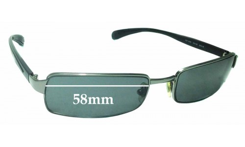 Sunglass Fix Replacement Lenses for Ray Ban RB3246 - 58mm Wide