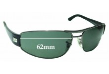 Sunglass Fix Replacement Lenses for Ray Ban RB3395 - 62mm Wide