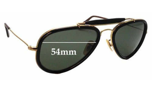 Sunglass Fix Replacement Lenses for Ray Ban RB3428 Road Spirit - 54mm wide