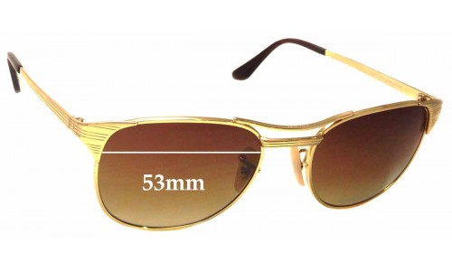 Ray Ban RB3429 Signet Replacement Sunglass Lenses - 53mm wide