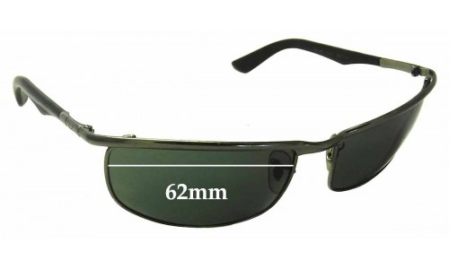 Ray Ban RB3459 Replacement Sunglass Lenses - 62mm wide