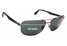Ray Ban RB3528 Replacement Sunglass Lenses - 61mm wide