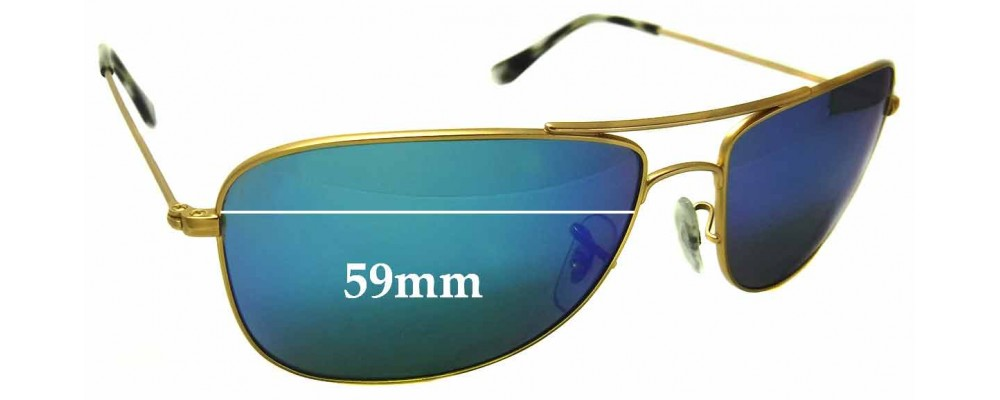85f51611b3 Ray Ban RB3543 Replacement Lenses 59mm by The Sunglass Fix®