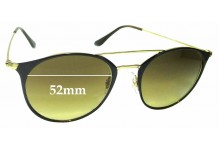 Sunglass Fix Replacement Lenses for Ray Ban RB3546 - 52mm wide