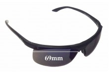 Ray Ban RB4085 Replacement Sunglass Lenses - 69mm Wide