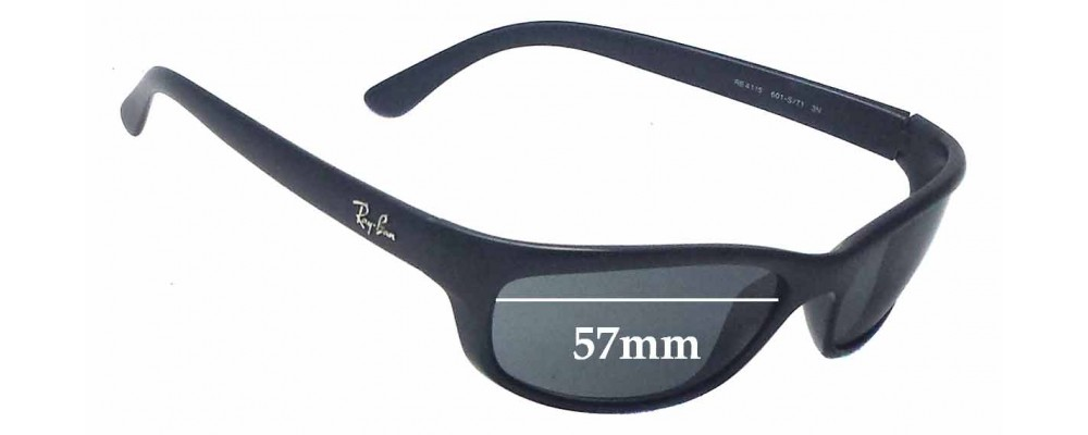 c143fd2ddc Ray Ban RB4115 Replacement Lenses - 57mm wide