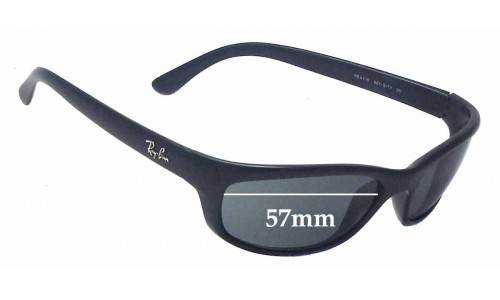 Ray Ban RB4115 Replacement Sunglass Lenses - 57mm wide