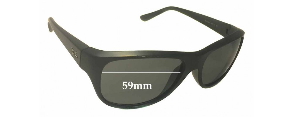 Ray Ban RB4138 Replacement Sunglass Lenses - 59mm wide