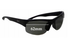 Sunglass Fix Replacement Lenses for Ray Ban RB4173 - 62mm Wide
