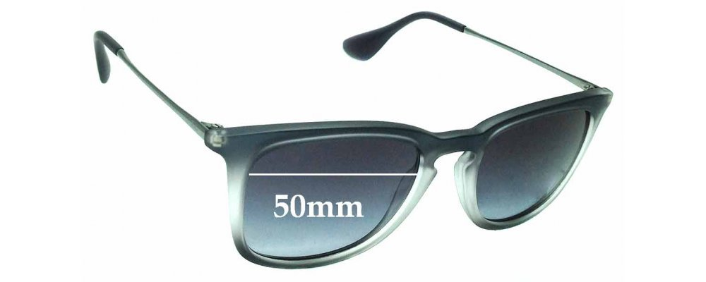96adac8715 Sunglass Fix Replacement Lenses for Ray Ban RB4221 - 50mm wide ...