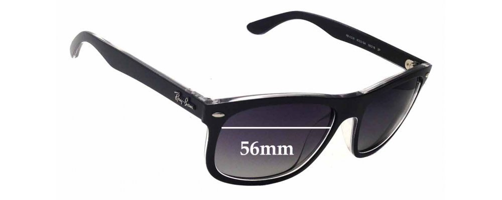 Ray Ban RB4226 Replacement Sunglass Lenses - 56mm wide
