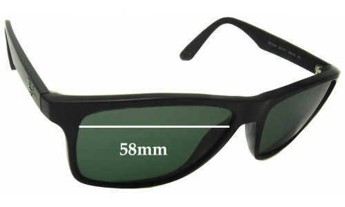 Ray Ban RB4234 Replacement Sunglass Lenses - 58mm Wide