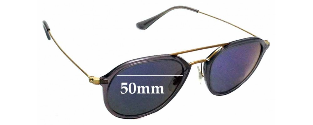 c754d17c37 Ray Ban RB4253Replacement Lenses 50mm Wide by The Sunglass Fix®
