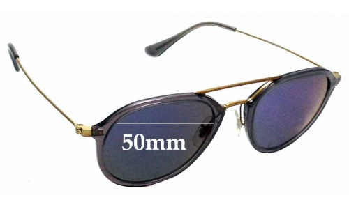 Sunglass Fix Replacement Lenses for Ray Ban RB4253 - 50mm wide