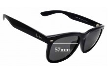 Sunglass Fix Replacement Lenses for Ray Ban RB 4260D - 57mm wide