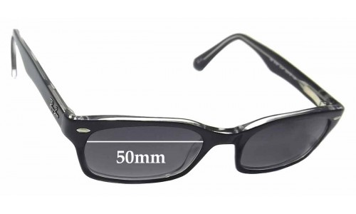 Ray Ban RB5150 Replacement Sunglass Lenses - 50mm wide