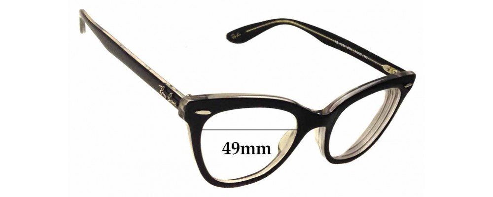 Ray Ban RB5226 Replacement Sunglass Lenses - 49mm wide