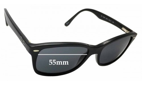 Ray Ban RB5228 Replacement Sunglass Lenses - 55mm wide