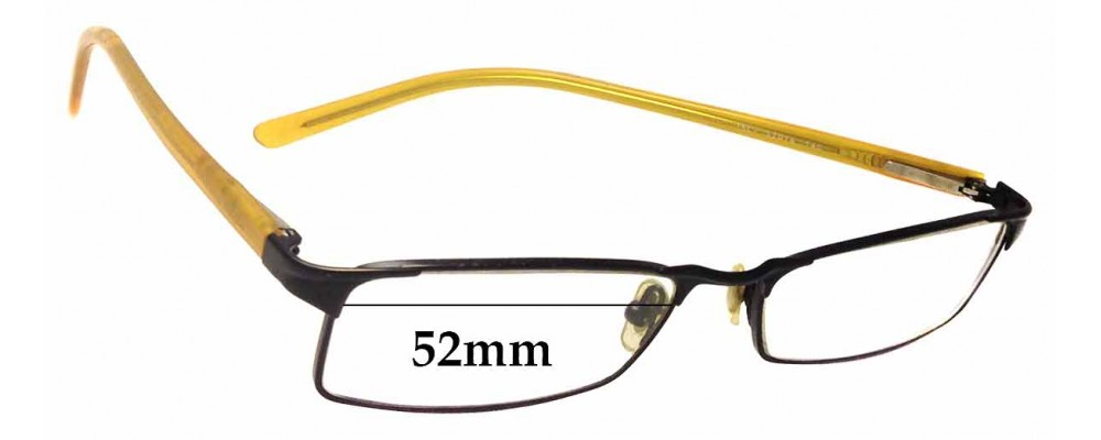 Ray Ban RB6067 Replacement Sunglass Lenses - 52mm wide