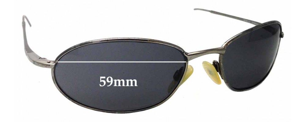 Ray Ban RB8013 W3120 Replacement Sunglass Lenses - 59mm wide