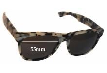 Retro Super Future Classic Puma 274 Replacement Sunglass Lenses - 55mm wide