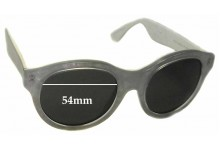 Retro Super Future Mona Pool Replacement Sunglass Lenses - 54mm wide