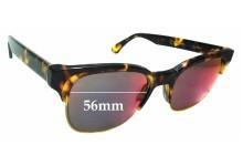 Sunglass Fix Replacement Lenses for Retro Super Future Lele Infrared - 56mm wide