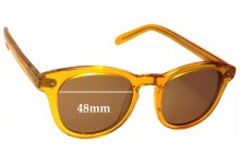 Sunglass Fix New Replacement Lenses for Retrovision Eyewear Mayfair RV2665 - 48mm Wide