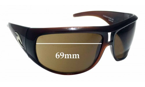 Rip Curl Durban Replacement Sunglass Lenses - 69mm Wide