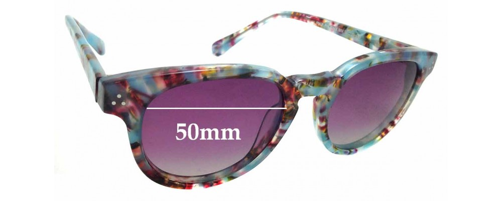 Sunglass Fix Replacement Lenses for RKF Phoenix Biv - 50mm Wide
