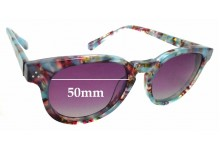 Sunglass Fix New Replacement Lenses for RKF Phoenix Biv - 50mm Wide