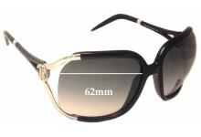 Sunglass Fix New Replacement Lenses for Roberto Cavalli Talisia 370S - 62mm Wide