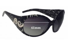 Sunglass Fix New Replacement Lenses for Roberto Cavalli Steno 389S - 61mm Wide