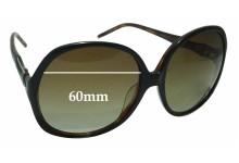Sunglass Fix New Replacement Lenses for Roberto Cavalli Bougainvillea 657S - 60mm Wide