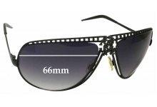 Roberto Cavalli Agenore 305S Replacement Sunglass Lenses - 66mm wide