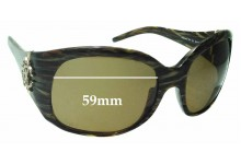 Sunglass Fix Replacement Lenses for Roberto Cavalli Assarraco -59mm wide